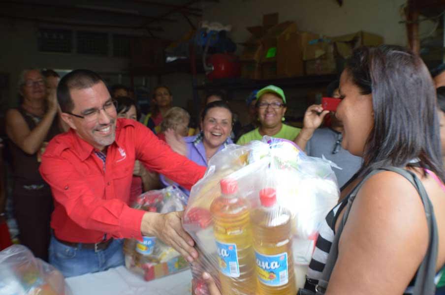 Gobierno Bolivariano celebro primer año de los CLAP en Delta Amacuro G 20170312-01