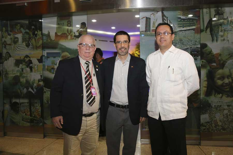 Ministro Arreaza recibe al presidente de Nicaragua Daniel Ortega G 20170305-03