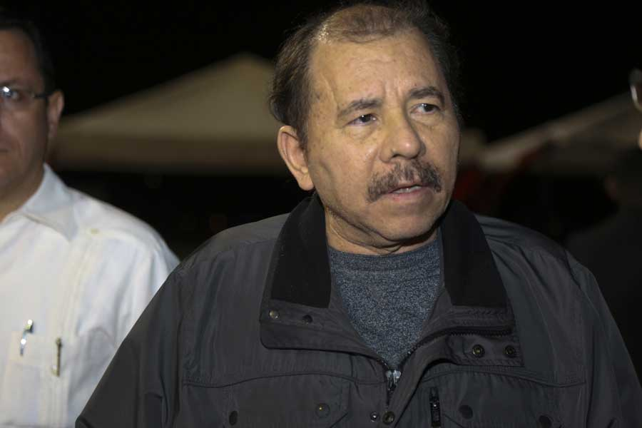 Ministro Arreaza recibe al presidente de Nicaragua Daniel Ortega G 20170305-17