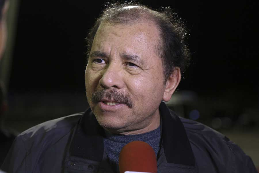 Ministro Arreaza recibe al presidente de Nicaragua Daniel Ortega G 20170305-21
