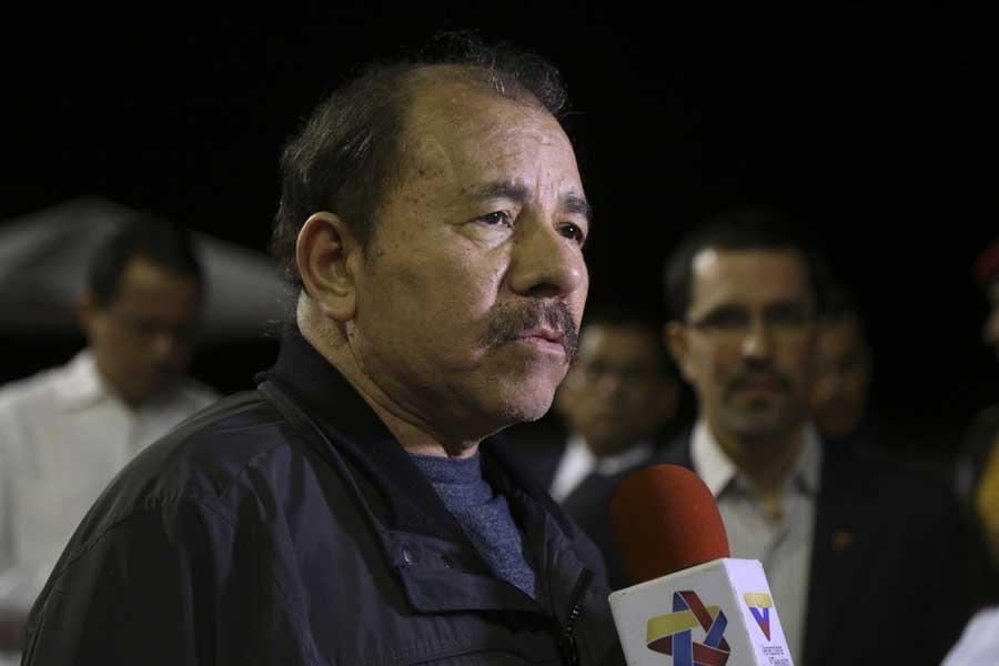 Ministro Arreaza recibe al presidente de Nicaragua Daniel Ortega G 20170305-22