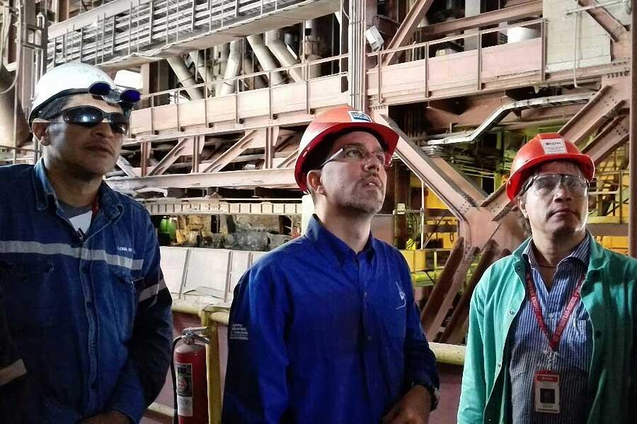 Motor Mineria apuntala plan de reactivacion de Loma de Niquel G 20170302-02