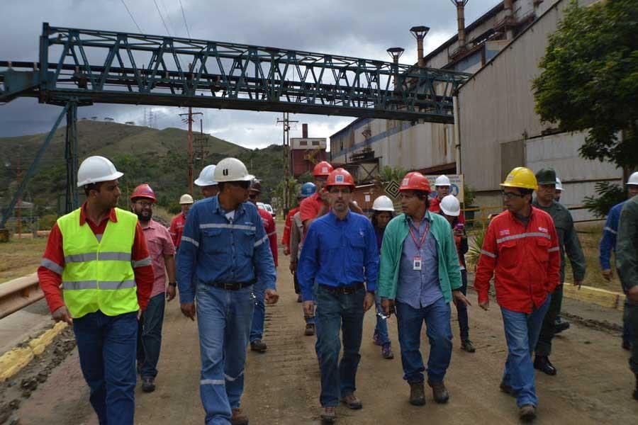 Motor Mineria apuntala plan de reactivacion de Loma de Niquel G 20170302-07