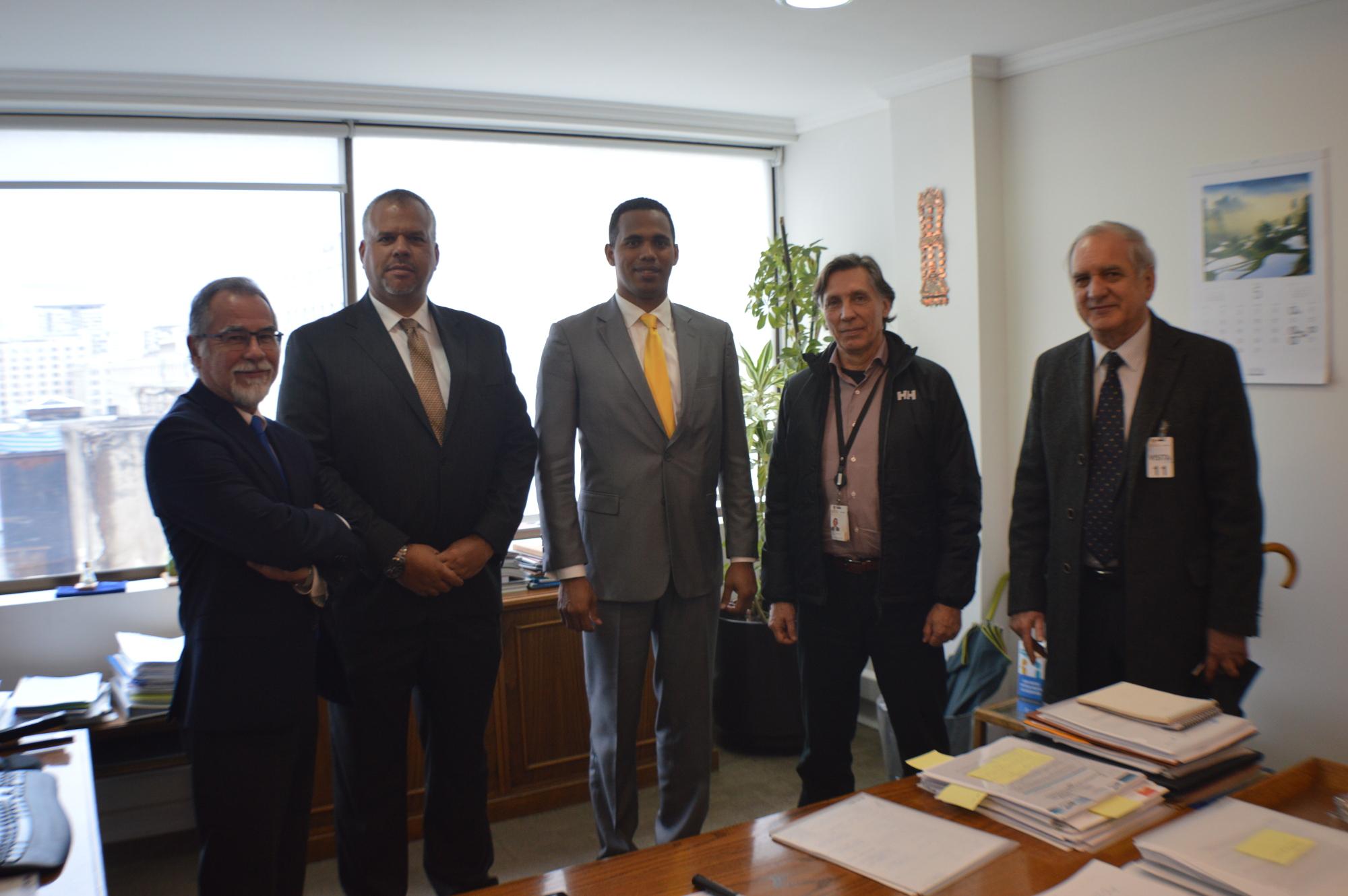 La presidencia y vicepresidencia de Codelco recibieron a la delegación venezolana