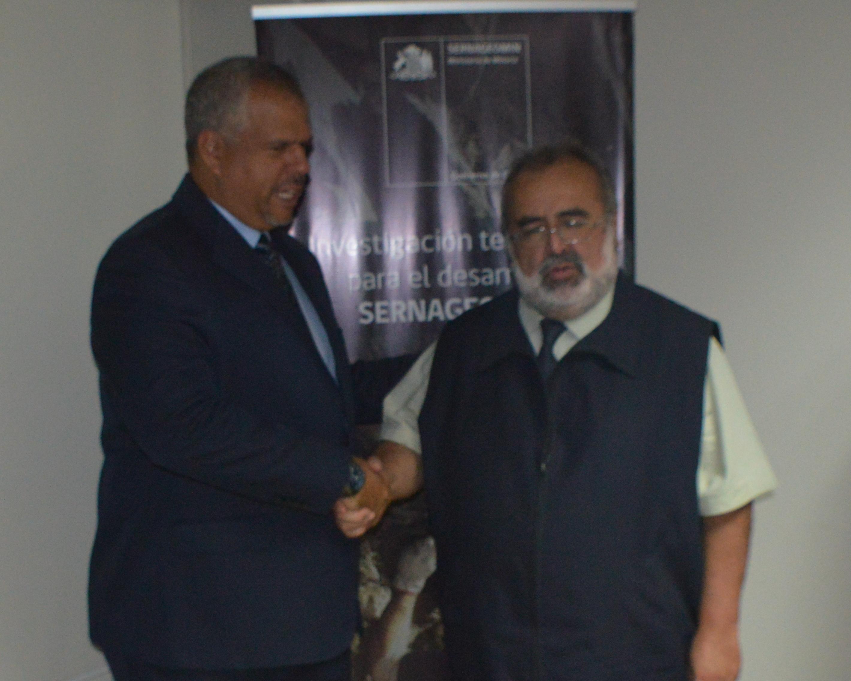 Ingeomin (Venezuela) y Sernageomin (Chile) acordarán intercambios técnicos