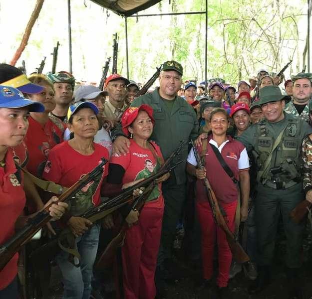 F1 Pueblo Minero participó en Ejercicio Soberanía Bolivariana 2017