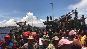 F3 Pueblo Minero participó en Ejercicio Soberanía Bolivariana 2017