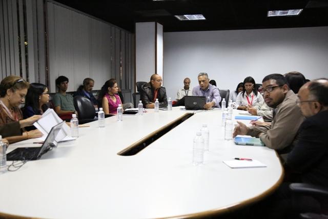 Reunión vicepresidencia económica