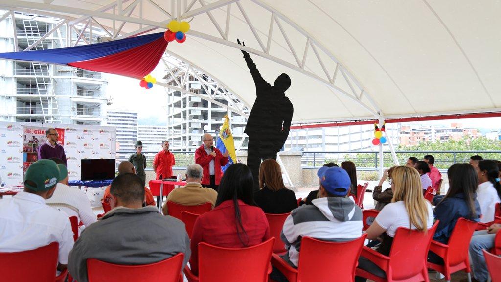 Conmemoración 5 años siembra de Chávez
