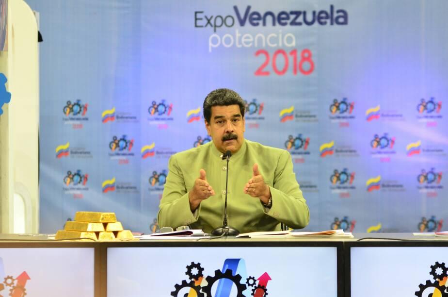 Petro oro_Nicolás Maduro