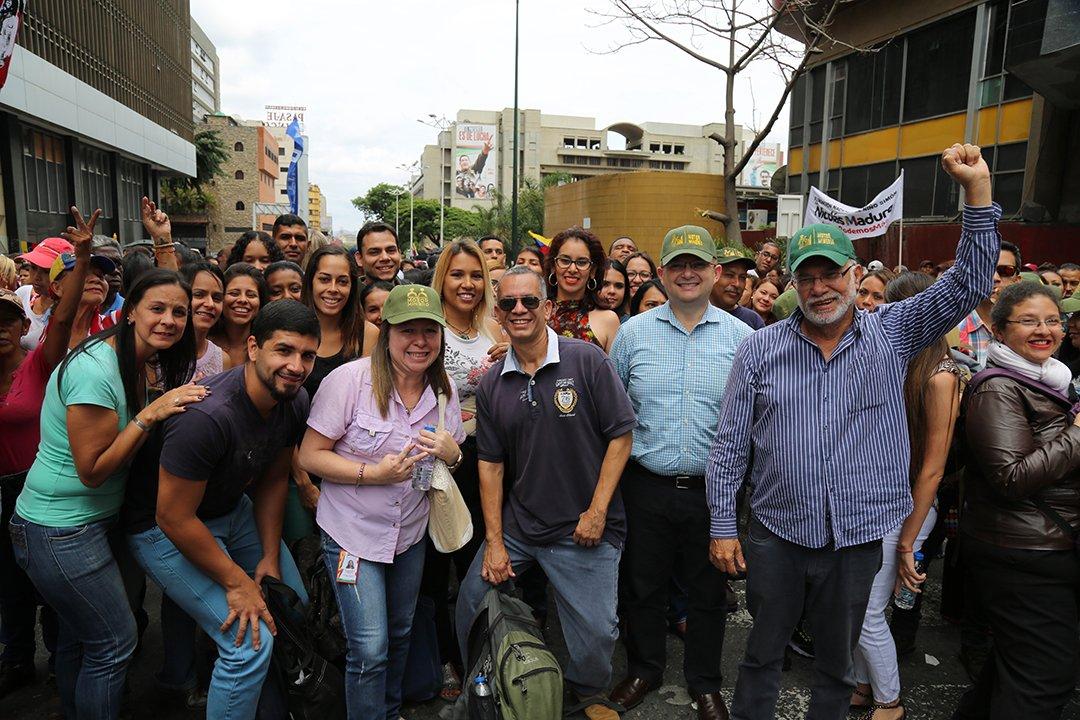 Concentración reelección Maduro