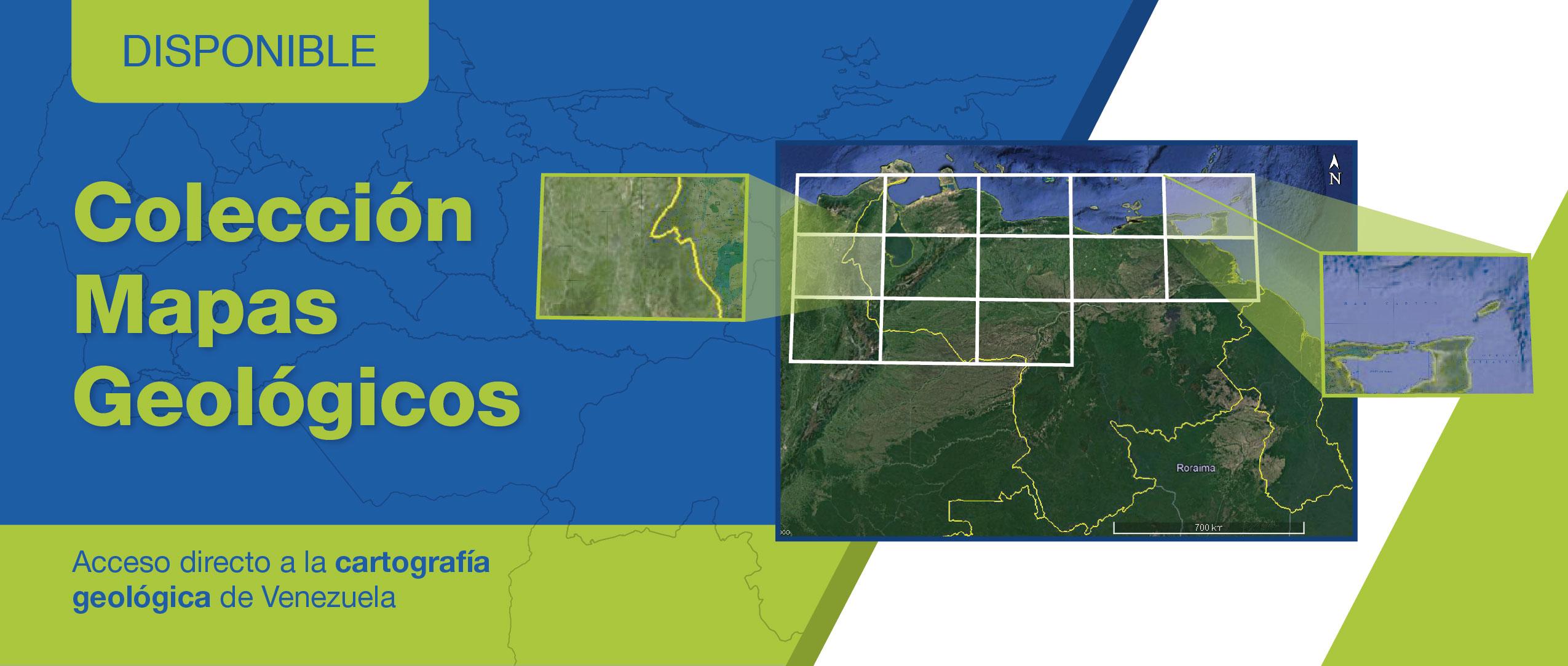 Colección de Mapas de Geología