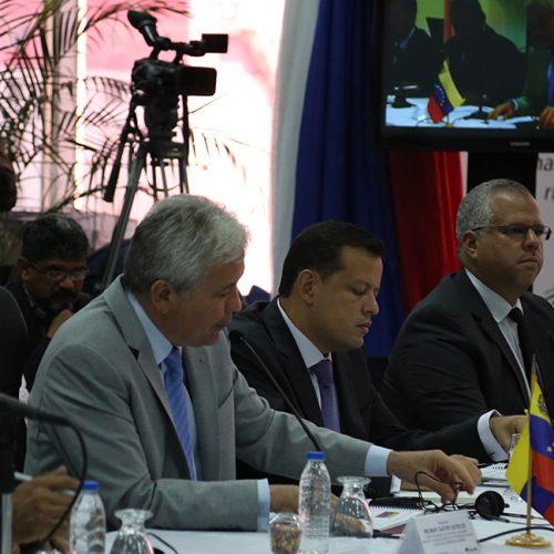 Comisión Intergubernamental Alto Nivel Rusia-Venezuela 2-4-18 (1)