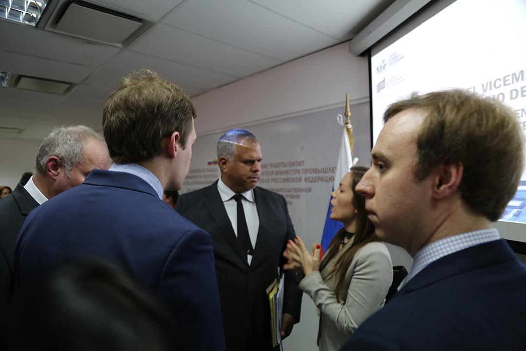 Comisión Intergubernamental Alto Nivel Rusia-Venezuela 2-4-18 (11)