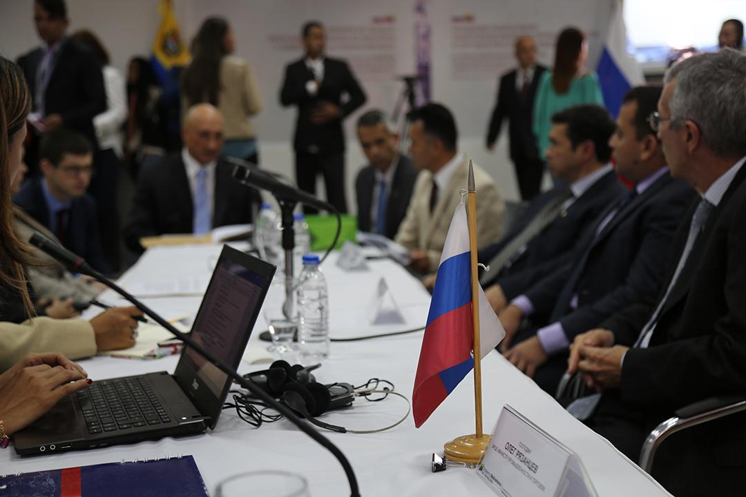Comisión Intergubernamental Alto Nivel Rusia-Venezuela 2-4-18 (14)