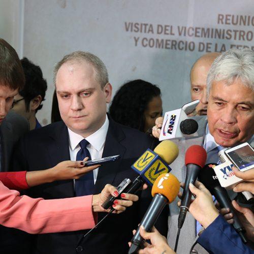 Comisión Intergubernamental Alto Nivel Rusia-Venezuela 2-4-18 (8)