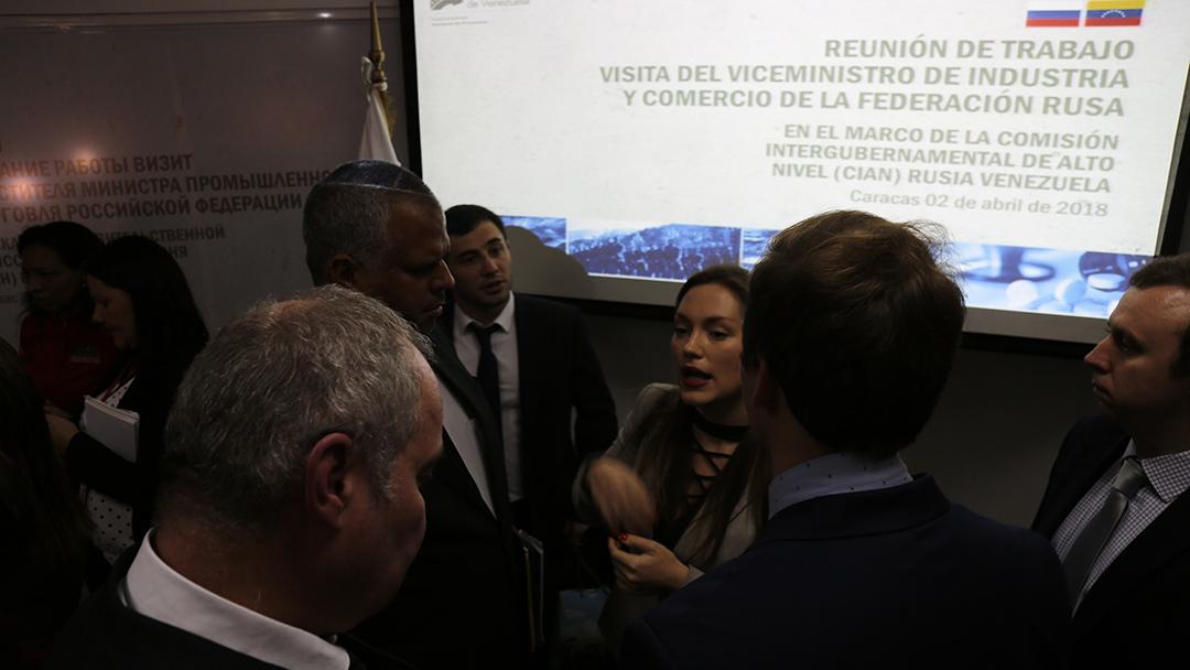 Comisión Intergubernamental Alto Nivel Rusia-Venezuela 2-4-18 (9)